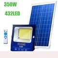 432LED 350W Панели солнечные светильник с 5 метровый кабель уличная лампа с солнечной батареей солнечной ночной Светильник Водонепроницаемый со...