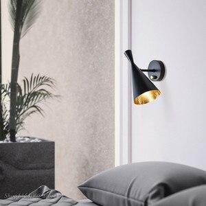 Image 4 - מודרני LED הכה אור קיר מנורת מכשיר אורות סלון חדר שינה קיר ליד מיטת אור בית תאורה גופי דקור