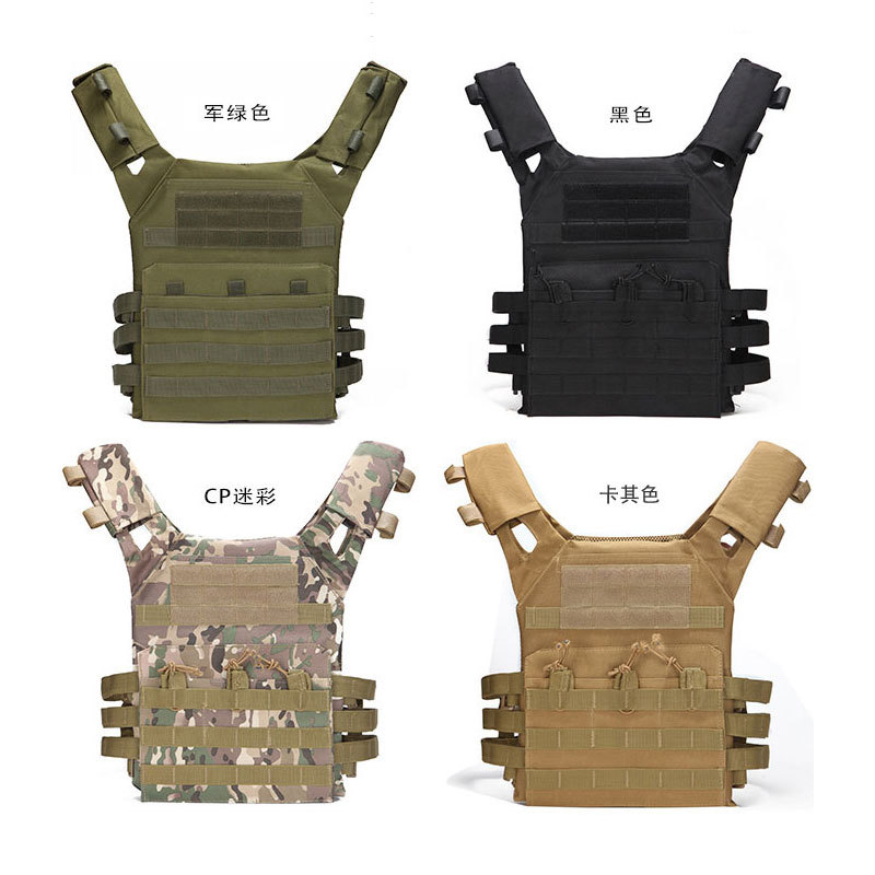 Multi-function Military Tactical Combat Vest JPC Plate Carrier Vest Outdoor CS Game Equipment Hunting Vest  Tactical Gear