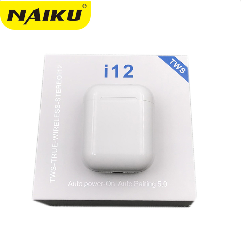 2019 <font><b>Original</b></font> <font><b>i12</b></font> <font><b>TWS</b></font> Touch Key Mini Wireless Earphone Bluetooth 5.0 Headset for Android xiaomi Iphone PK i10 i20 i30 i60 <font><b>tws</b></font> image