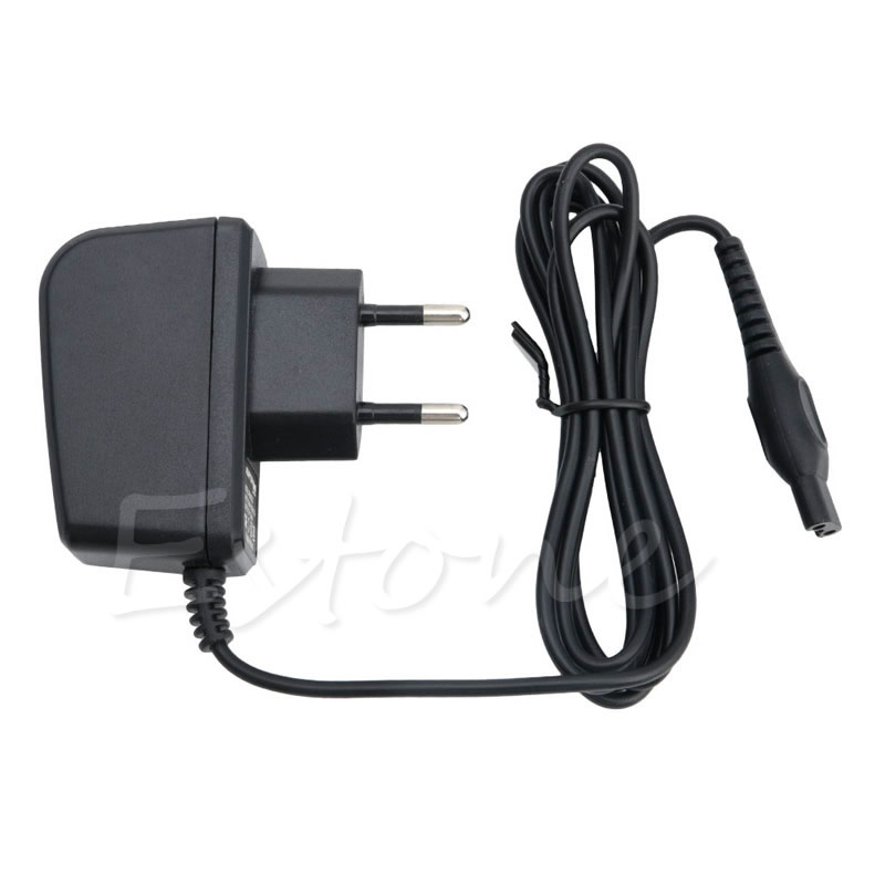 EU Plug Universal Power Razor Charger Cord Adapter For Philips Norelco Shaver HQ