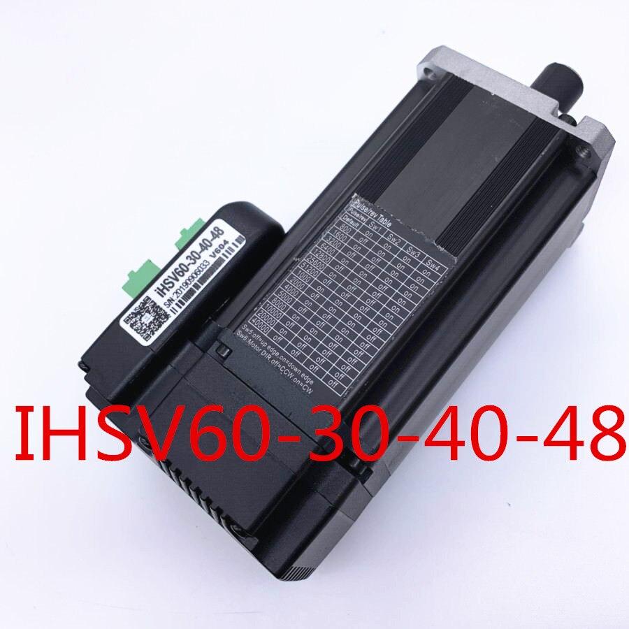 IHSV60-30-40-48 400 Вт интегрированный Серводвигатель 48VDC 3000 об/мин 1.27NM с 1000 линейным кодером