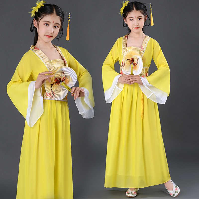 Rood Roze Geel Kids Fancy Carnaval Chinese Fairy Kostuums Vakantie Kleding Ang 2 Om 10 12 14 Kinderen Nieuwe Jaar jurken Voor Meisjes