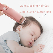 Baby Hair Clippers Quiet Kids Hair Trimmers Infant Electric Haircut Kit Kids Cordless Hair Cutter Machine Children Household