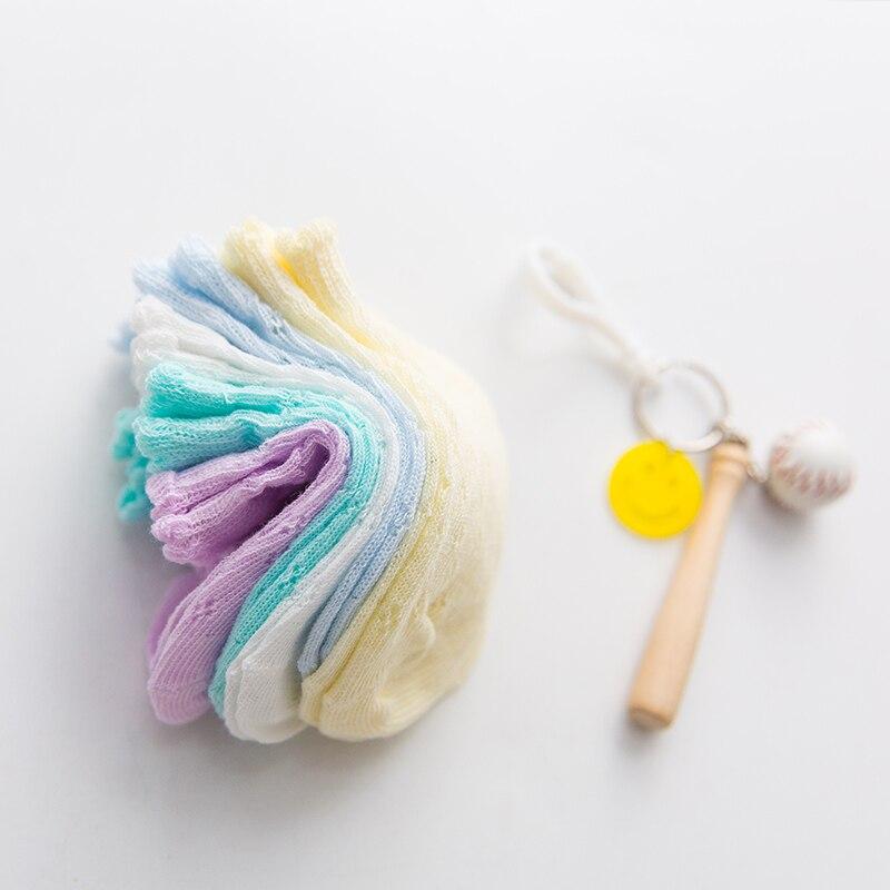 5Pairs/Lot Cute Kids Socks  Breathable mesh Short Socks Spring Summer Children Boys Girls Ankle Socks 2