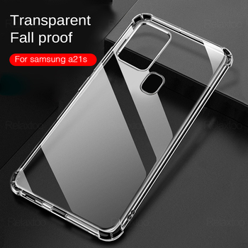 Transparent Soft Case For Samsung Galaxy A21s A51 A71 A11 A31 A41 A01 Core M21 M31 M30 A70 A50 A30 A20 A10 Silicone Cover Fundas image
