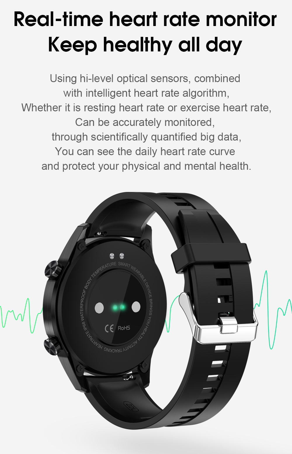 Hfc3d4c48ae6640299be94a932f164f71r Timewolf IP68 Smart Watch Men Android 2020 Full Touch Smartwatch Men Women Smart Watch For Huawei Xiaomi Apple IOS Android Phone