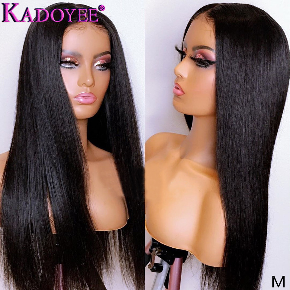 Straight Lace Front Wig Remy Hair 13X4/ 13X6 Lace Frontal Wig Malaysian Lace Front Human Hair Wigs Preplucked Lace Wig For Women