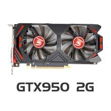 Placa gráfica gtx 950 de veineda placas de vídeo de 2gb 128bit gddr5 para placas vga de nvidia geforce gtx 950 mais forte do que gtx750ti 2gb