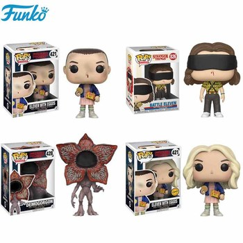 Funko POP Stranger Things Little Eleven Riverdale Demogorgon Hopper Jonathan Collection 10cm Action Figures Toys for Gifts