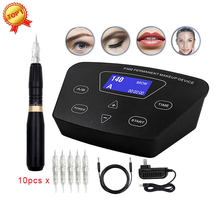 BIOMASER – Machine rotative pour maquillage Permanent, kit de tatouage de sourcils, stylo professionnel pour sourcils, Eyeliner, lèvres, HP100P300