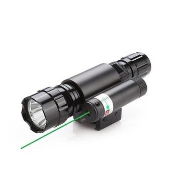 Linterna láser, instrumento de puntaje láser, linterna táctica, combinación de láser Manual/láser de doble uso