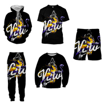 LBG New Kobe Printed Sweatshirts Mens and Womens Fashion 3D Casual Sportswear Harajuku Hoodies