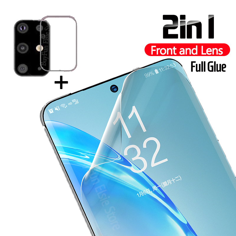 Soft-Tpu-Film Screen-Protector Hydrogel Not-Glass Ultra-S20plus-Sticker Galaxy 2in1 Samsung title=