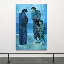 Tragedy Pablo Picasso Wall Art Canvas Posters And Prints Painting Decorative Picture For Office Living Room Home Decor HD