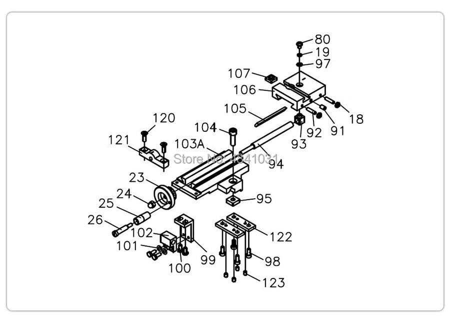 S//N:10151 DRCD Kit SIEG Readout for Cutting Depth Kit C6 SC6 C6B M6 Component
