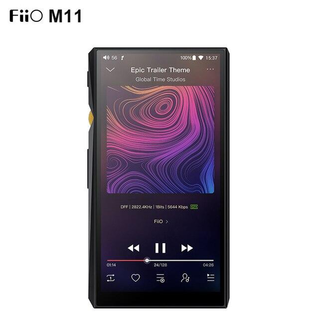 FiiO M11 HIFI מוסיקה נגן AK4493EQ * 2 פלט מאוזן/תמיכת WIFI/אוויר לשחק/Spotify Bluetooth 4.2 aptx HD/LDAC DSD USB DAC