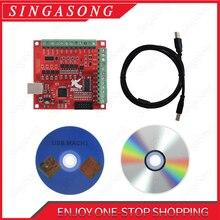 CNC USB MACH3 100Khz הבריחה לוח 4 ציר ממשק נהג תנועה בקר