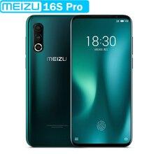 """Meizu 16S Pro VOLTE 4 аппарат не привязан к оператору сотовой связи 6 ГБ Встроенная память Snapdragon 855 плюс Octa Core 6,"""" FHD+ NFC для мобильного телефона"""
