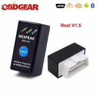 Best ELM327 V1.5 ODB 2 Autoscanner EML327 V1.5 OBD2 Bluetooth Adapter Mini ELM-327 ODB 2 Car Diagnostic Scanner Russian-Speaking