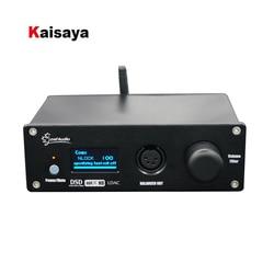 LDAC Csr8675 Bluetooth 5.0 Dual ES9038Q2M Fully Balanced Headphone Amp XMOS XU208 DAC Audio Decoder DSD512 T0488
