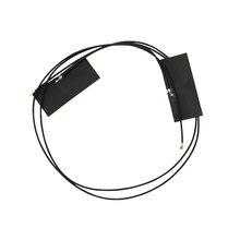 Asunflower 1 par m.2 antena mini pci e sem fio wifi mhf4 portátil/incorporado antena de banda dupla para ngff wifi wlan bluetooth