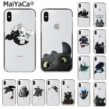 Maiyaca Sdentato How To Train Your Dragon Cliente di Alta Qualità Cassa Del Telefono per Il Iphone 11 Pro Xs Max 8 7 6 6S Plus X 5 5S Se Xr(China)
