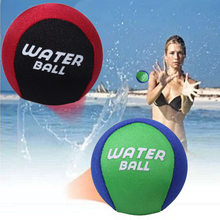 TPR Water Bouncing Ball Bounce Water Surf Ball Water Skimming Jumper Ball Ocean Pool Beach Sports Toys Fidget Stress Relief Ball(China)