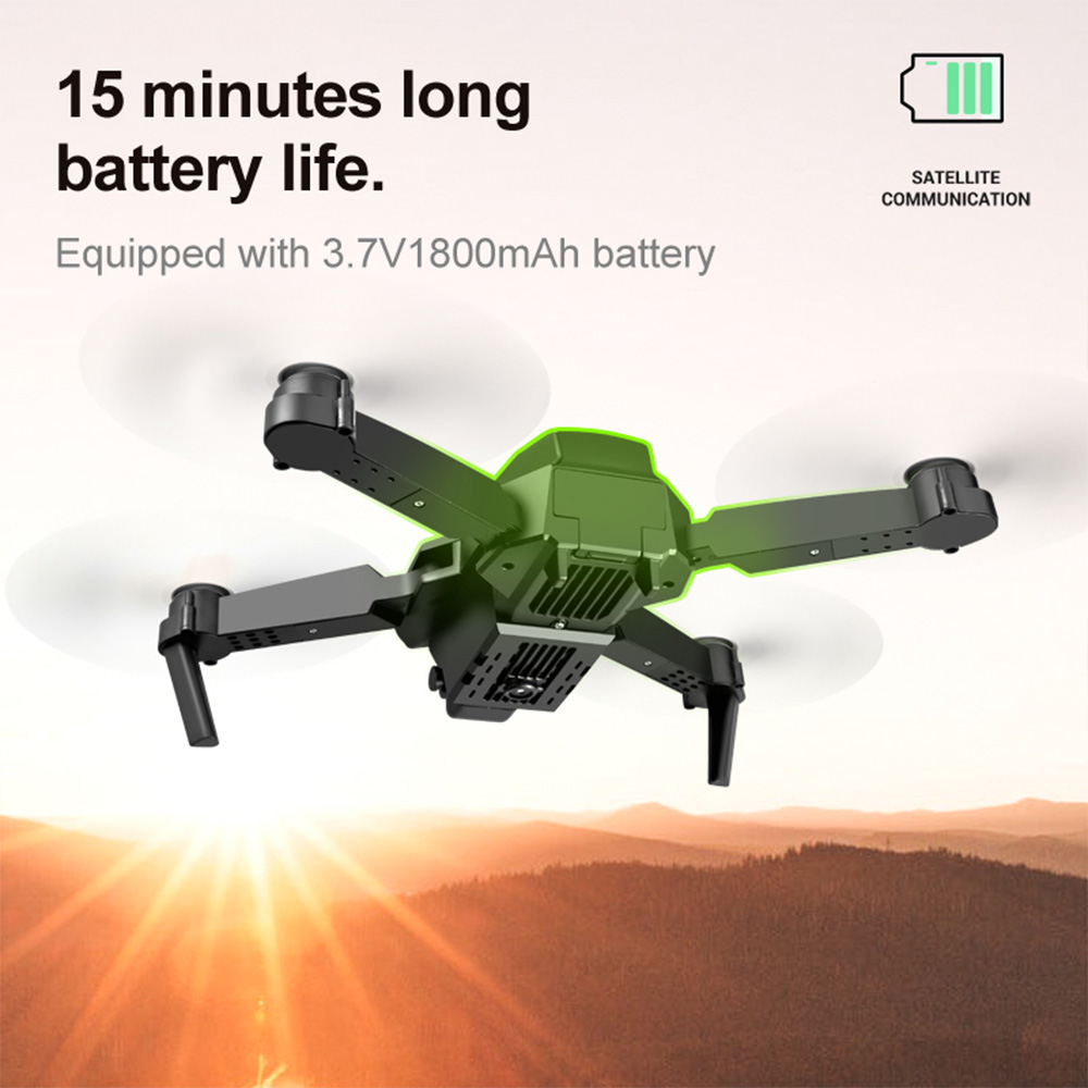 SHAREFUNBAY E88 pro drone 4k HD dual camera visual positioning 1080P WiFi  fpv drone  height preservation rc quadcopter 3