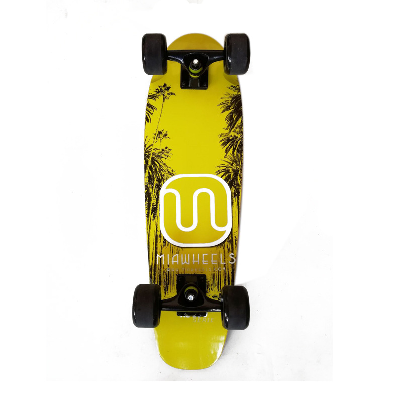 Manufacturers Supply Dynamic Maple Skateboard Four Wheel Skateboard Industry Adult Special Scooter Brush Street Broad Skateboard