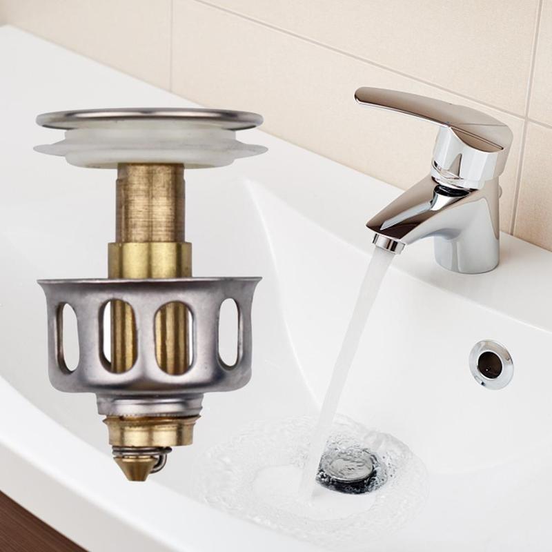 Фильтр для слива раковины, Универсальный фильтр для слива раковины, стопор для слива раковины, стопор для раковины, фильтр для слива в ванну...