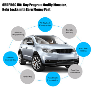 Image 5 - OBDPROG 501 Car Key Programmer Professional Wifi Remote Code Reader OBD2 Car Master Immobilizer Pin Code IMMO Diagnostic Tools