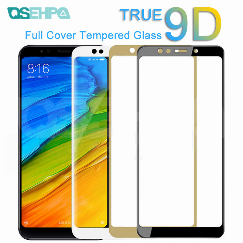 9D Protective Glass On The For Xiaomi Redmi 5 Plus 5A S2 Go K20 Tempered Screen Protector For Redmi 4 Pro 4X 4A Glass Film Case