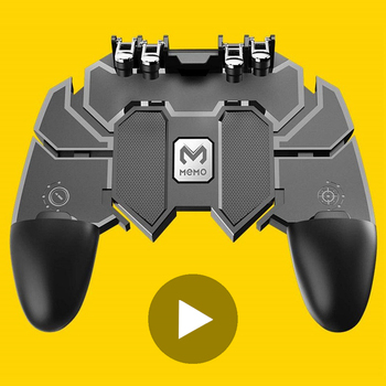 Control for Cell Phone Pubg Gamepad Joystick Android iPhone Trigger Mobile Game Pad Controller Hand Cellphone Wireless Pupg Pugb game pad console control l1 r1 joystick for android iphone cell phone gamepad pubg controller to mobile trigger joypad cellphone