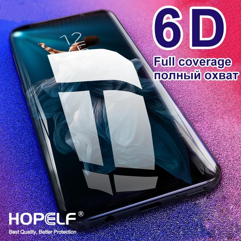 6D Glass for Huawei Honor 10 Lite 20 Pro 9 8X 9X Screen Protector Protective 8A 8X Glass for Honor 20 10 Lite 9 10i 20i Glass(China)