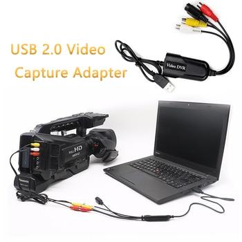 USB 2.0 Video Capture Adapter Card Video DVR 4 Channel Video TV DVD VHS TV  For Win7/8/10/XP/Vista Dropshipping eszym 4 channel tv video wall controller 2x2 1x3 1x2 hdmi dvi vga usb video processor