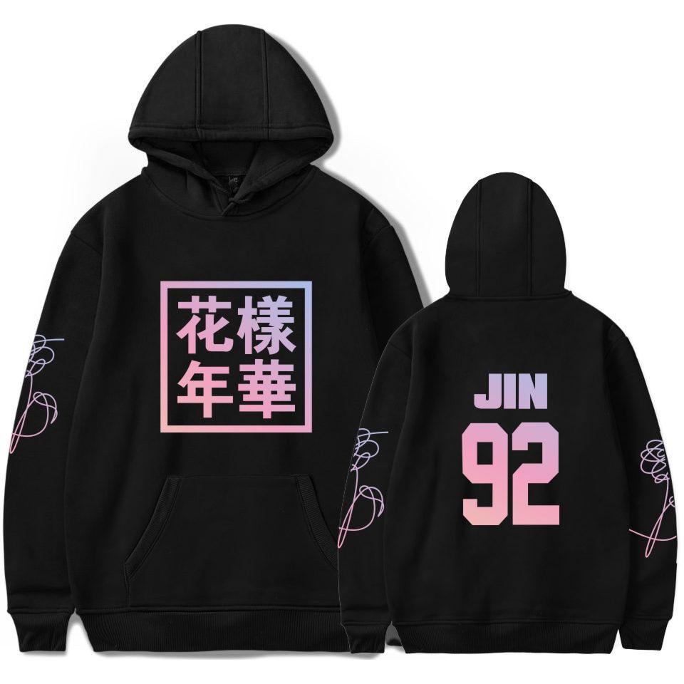 Bangtan Boys Young Forever Unisex Hoodie JIMIN J-HOPE JUNG KOOK SUGA Sweatshirt Women Kpop Fans Hip Hop Clothes