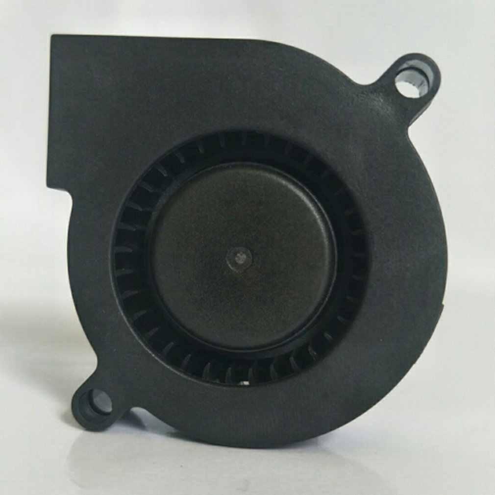 1 шт. Ультра тихий воздуходувка 12 В 24 в ультра-тихий масляный вентилятор с учетом высокой скорости 7500 об/мин, трубо маленький вентилятор для 3D-принтера