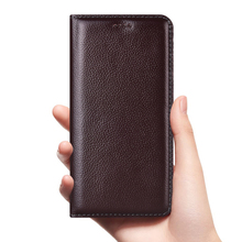 Vintage Litch Genuine Leather Case For Meizu