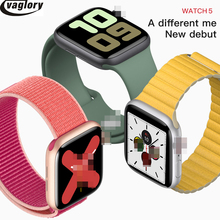IWO 12 Smartwatch 44mm Case Smart Watch Series 5 with 30 Clock Faces for iPhone
