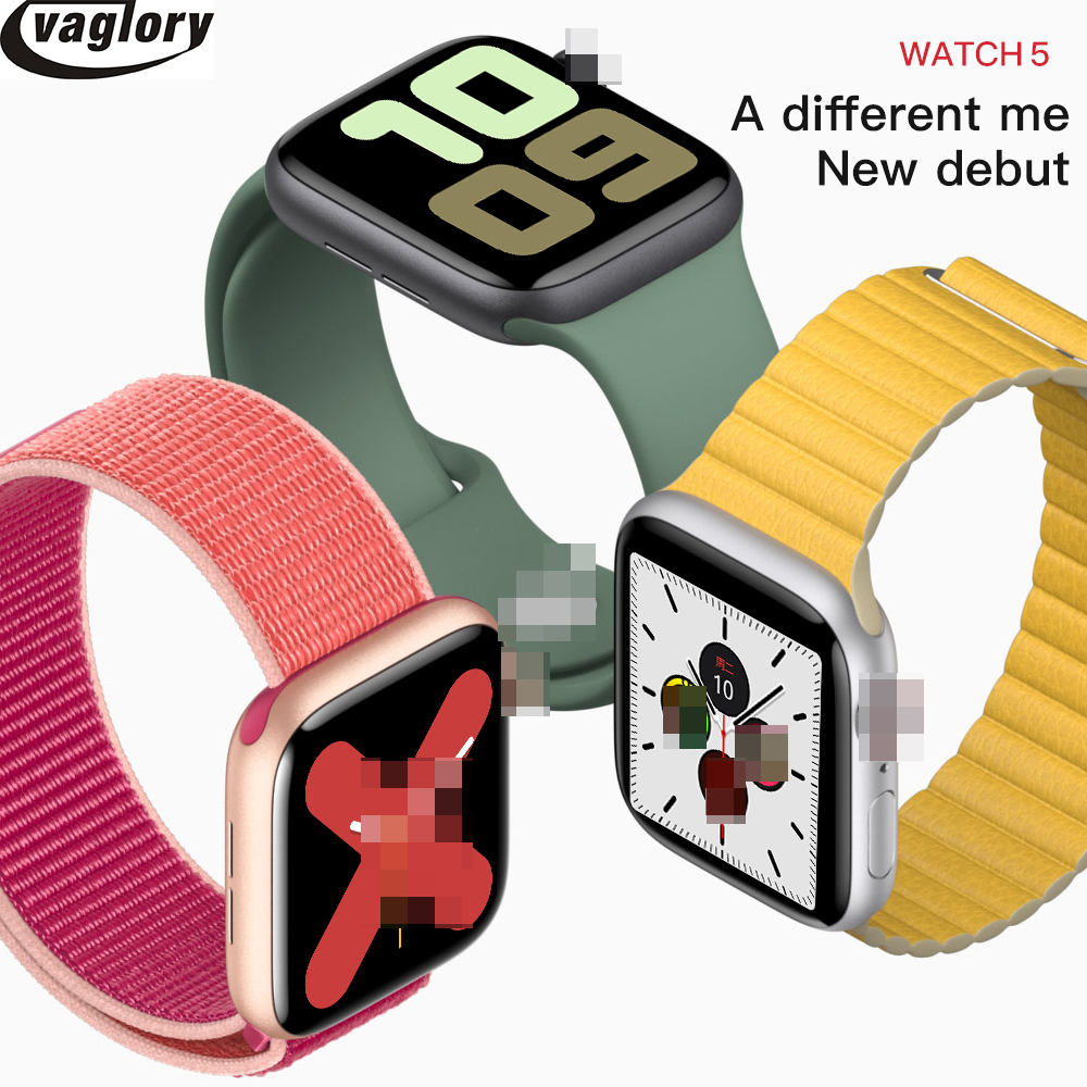 <font><b>IWO</b></font> 12 Smartwatch <font><b>44mm</b></font> Case <font><b>Smart</b></font> <font><b>Watch</b></font> Series 5 with 30 Clock Faces for iPhone Huawei Support Message Push Upgrade <font><b>IWO</b></font> <font><b>8</b></font> image