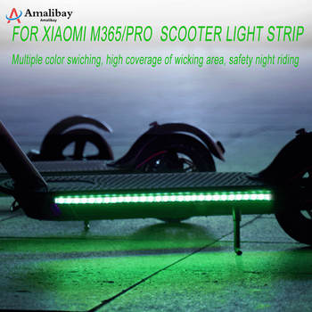 Light Strip for Xiaomi M365 Pro Foldable LED Colorful Safety Night Riding Decorative Light for Xiaomi M365 Electric Scooter