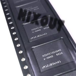 Image 1 - 1 個〜 5 ピース/ロット H26M31003GMR H26M31003 BGA53 ブランド新オリジナル 4 グラム携帯電話ハードディスクメモリ収納チップ EMM フォント