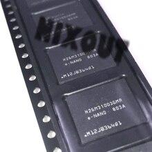 1PCS ~ 5 יח\חבילה H26M31003GMR H26M31003 BGA53 חדש לגמרי מקורי 4G נייד טלפון קשיח דיסק זיכרון אחסון שבב EMM גופן