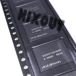 Image 1 - 1PCS ~ 5 pçs/lote H26M31003GMR H26M31003 BGA53 Marca original novo chip EMM 4G de telefonia móvel de armazenamento de memória de disco rígido da fonte