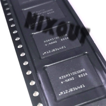 H26M31003GMR H26M31003 BGA53 disco duro original de 4G para teléfono móvil, memoria, chip de almacenamiento, fuente EMM, 1 Uds. ~ 5 uds./lote