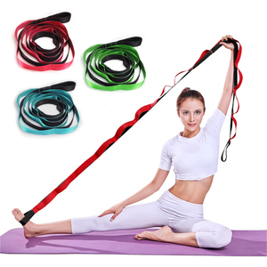 Yoga Swing Stretch Buckle Belts Gym Fitness Equipment For Women Shaped Weight Loss Tool Durable Cotton Exercise Rope Accessories