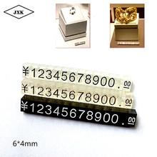 X 6*4mm cyfry metka z ceną kostki cena sprzedaży stojak regulowany cena cyfry kostki dolar euro cena wyświetlacz sklep cena tanie tanio Environmental recycling 0007 0 4cm Opakowanie i wyświetlacz biżuterii Tagi Cena tagi Z tworzywa sztucznego 0 6cm Price