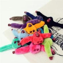 Doll Keychain-Bag Car-Trinket Plush-Danny Monkey Fluffy-Fur Jewelry Wedding-Toy Gift