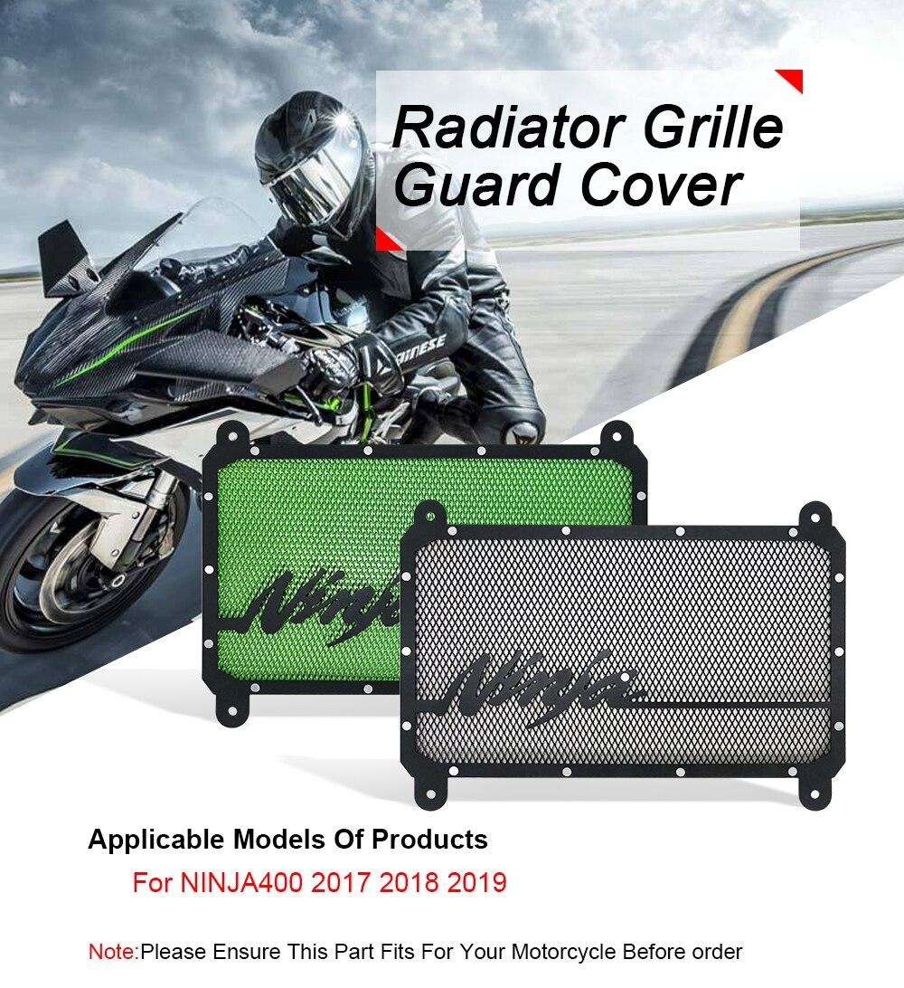 For Kawasaki ninja 650 2017-2019 2018 CNC Radiator Grille Guard Cover Protector